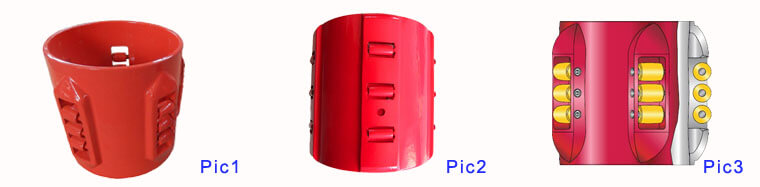 Different Blade style Straight Blade Roller Centralizer