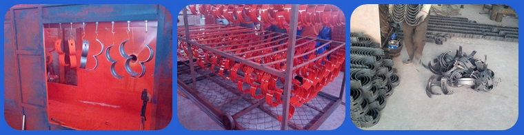 Hinged Stop Collar Production and Package