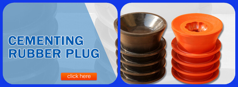 cementing rubber plug
